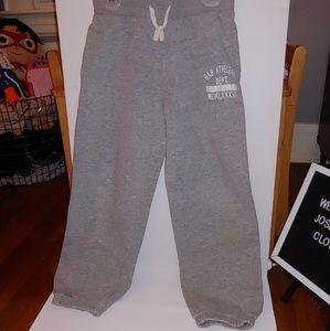 GAP boys gray sweatpants size medium